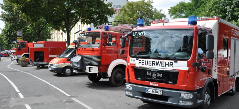 Feuerwehr Köln Einsätze